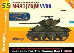 Dragon 9155 M4A1(76)W VVSS w/Logs and Backpacks