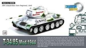 Dragon Armor 60256 Czołg T-34/85 Mod. 1944 gotowy