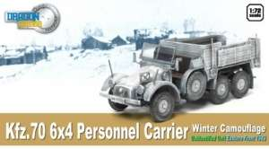 Dragon Armor 60501 Kfz.70 6x4 Personnel Carrier Winter