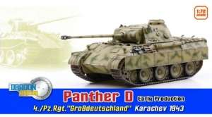Dragon Armor 60596 Panther D Early Production - gotowy model