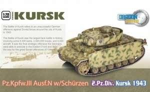 Dragon Armor 60614 Pz.Kpfw.III N w/Schurzen Kursk gotowy model