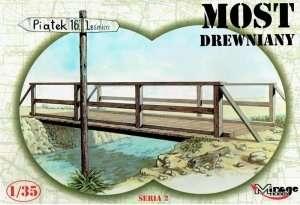Drewniany most - Mirage Hobby 35220