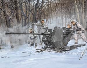 Działko przeciwlotnicze Flak 37 Trumpeter 02310