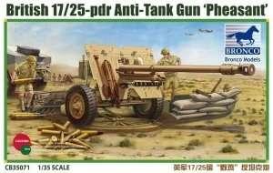 Działo przeciwpancerne 17/25pdr Pheasant model Bronco 35071