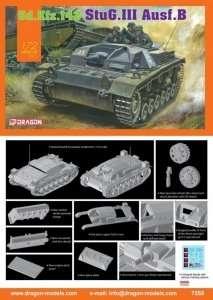 Działo samobieżne StuG.III Ausf.B Dragon 7559