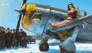 Eduard 11103 P-47 Dottie Mae by Romain Hugault - Limited