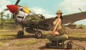 Eduard 11104 P-40N Warhawk by Romain Hugault - Limited