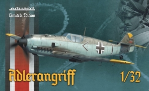 Eduard 11107 Samolot Bf 109E Adlerangriff Limitowana edycja