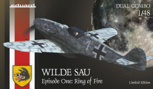 Eduard 11140 Wilde Sau Episode One Ring of Fire samolot Bf 109G
