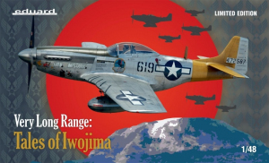 Eduard 11142 samolot Very Long Range Tales of Iwojima P-51D