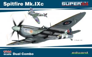 Eduard 4429 Dwa samoloty Spitfire Mk.IXc modele 1-144