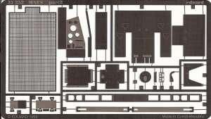 Elementy fototrawione do czołgu Maus - zestaw Eduard 35252