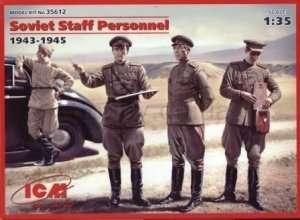 Figures Soviet Staff Personnel - ICM 35612