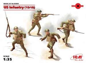 Figures US Infantry WWI ICM 35693