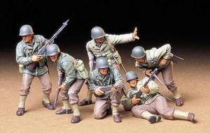 Figurki amerykańskiej piechoty Tamiya 35192