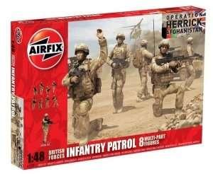 Figurki brytyjskich żołnierzy z Afganistanu Airfix 03701