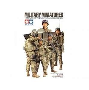 Figurki japońskich żołnierzy - pomoc humanitarna - Irak Tamiya 35276