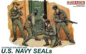 Figurki komandosów U.S. NAVY SEALs Dragon 3017