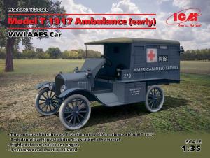 Ford T Ambulans 1917 model ICM 35665