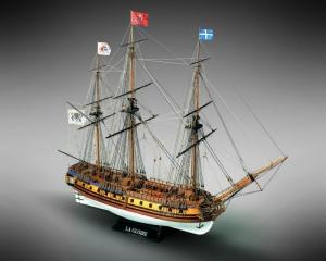 Fregata La Gloire Mamoli MV34 drewniany model okrętu 1-90
