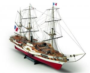 Fregata Lorenoque Mamoli MV23 drewniany model statku 1-100
