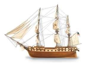 Fregata US Consellation Artesania 22850 drewniany statek 1-85