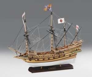 Galeon Revenge 1577 - Amati 130008 - drewniany model w skali 1:64