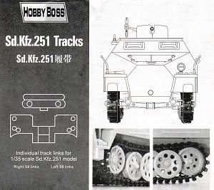 Gąsienica do transportera Sd.kfz. 251 Hobby Boss 81005