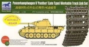 Gąsienice czołgu Panzerkampfwagen V Panther Bronco AB3540
