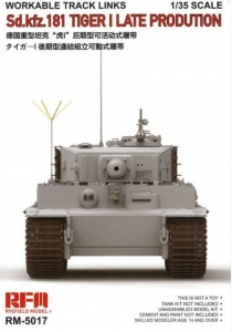 Gąsienice do czołgu Tiger I 1-35 RMF RM-5017