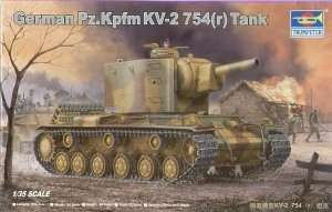 German tank Pz.Kpfm KV-2 754r - Trumpeter 00367