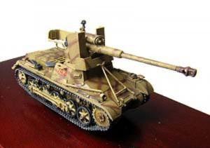 Gotowy model 7.5cm StuK na PZ.I 1-72 Panzerstahl 89004
