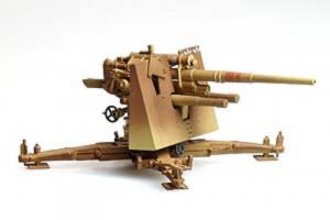 Gotowy model 8.8cm Flak 18 1-72 Panzerstahl 88039
