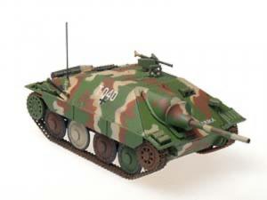 Gotowy model Hetzer Mid 1-72 Panzerstahl 88034