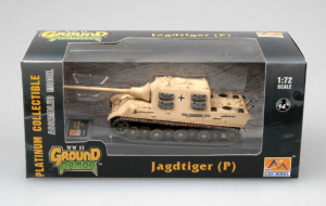 Gotowy model Jagdtiger Porsche 1:72 Easy Model 36116