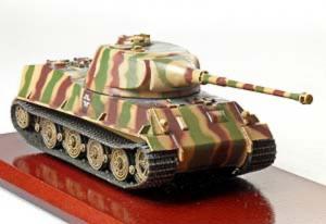 Gotowy model Panzer VII Lowe 1-72 Panzerstahl 89003
