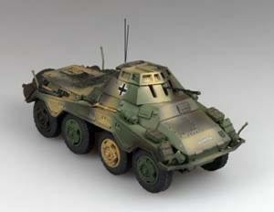 Gotowy model Sd.Kfz.234/1 1-72 Panzerstahl 88012