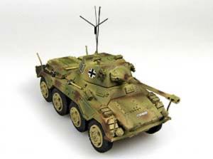 Gotowy model Sd.Kfz.234/2 Puma 1-72 Panzerstahl 88013