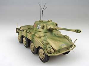 Gotowy model Sd.Kfz.234/2 Puma 1-72 Panzerstahl 88014
