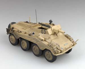 Gotowy model Sd.Kfz.234/3 1-72 Panzerstahl 88016