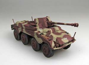 Gotowy model Sd.Kfz.234/4 1-72 Panzerstahl 88018