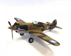 Gotowy model myśliwca Flying Tiger (A.V.G) P-40C Tomahawk