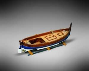 Gozzo Mediterraneo - Mamoli MM66 - drewniany model w skali 1-32