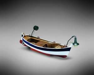 Gozzo da pesca Mamoli MM70 drewniany model 1-28
