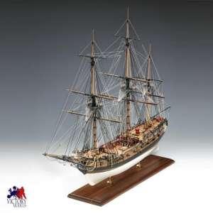 H.M.S. Fly - Amati 1300/03 - drewniany model w skali 1:64