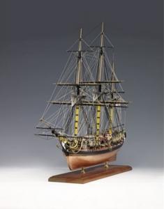 H.M.S. Pegasus 1776 Amati 130005 drewniany model 1:64