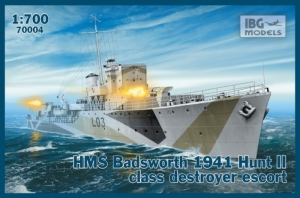 HMS Badsworth 1941 Hunt II niszczyciel IBG 70004