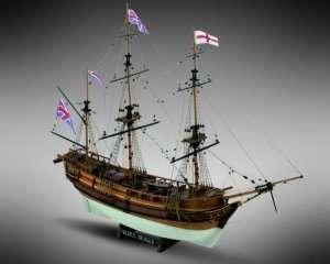 HMS Beagle Mamoli MV20 drewniany model 1-64