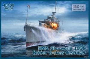 HMS Glowworm 1938 niszczyciel IBG 70008