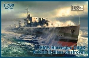 HMS Harvester 1943 niszczyciel IBG 70010